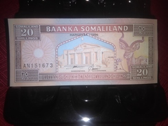 SOMALIA 1996 20 SHILLINGS P-3b RARE BANKNOTE LOC#A1522 - Somalia