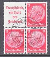 GERMANY  W 67   (o)   Wmk. Crosses - Se-Tenant