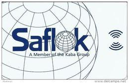 Generic Saflok Hotel Room Key Card