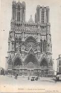 REIMS - 51 -La Façade De La Cathédrale  - AUT2 - - Reims