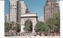 G , Cp , ÉTATS-UNIS , NEW YORK CITY , Greenwich Village , Washington Square And Victory Arch - Greenwich Village