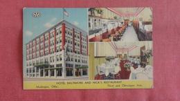 - Oklahoma > Muskogee Hotel Baltimore  & Nicks Restaurant   2462 - Muskogee