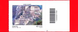 Nuovo - MNH - ITALIA - 2016 - Patrimonio Artistico E Culturale Italiano - Forte Di Bard (Aosta) - 0,95 € - Barre 17 - Code-barres