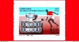 Nuovo - MNH - ITALIA - 2016 - 40 Anni Della Vittoria Dell'Italia In Coppa Davis - Coppa Davis E Tennista - 0,95 € - 2011-...: Mint/hinged