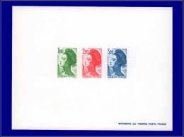 Qualité: EPL – 2375/77, épreuve Collective, (tirage 25): Liberté. Cat Price €: 1000 - Stamps
