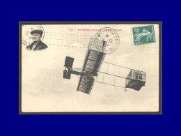 """137, Sur Cp """"Pilote Rougier"""", Obl. Mécanique Flamme Port Aviation 8/10/09. - Stamps"""
