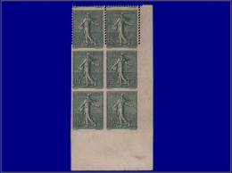 Qualité: XX – 130, Bloc De 6, Cdf, 2 Exemplaires Dentelés 3 Cotés Tenant à Bloc... - Stamps