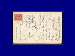 """129, Sur Cp Monaco, Obl. Au Départ Cad """"Monaco Principauté 5/2/05"""". - Stamps"""
