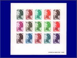 Qualité: EPL – 464/78, épreuve Collective, (tirage 25): Liberté Et Gandon. Cat Price... - Stamps