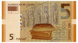 AZERBAIJAN 5 MANAT 2005 Pick 26 Unc - Azerbaïjan
