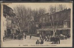 CPA - CASSIS - AVENUE VICTOR HUGO Et HOTEL LIAUTAUD - Edition C.A.P. - Cassis