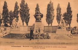 Schaarbeek Schaerbeek  Monument Recouvrant La Crypte Ou Respons Les Soldats Schaerbeekois Morts Pour La Partie     X 225 - Schaerbeek - Schaarbeek