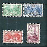 Andorre Francais Timbres De 1932/33 N°32 A 35 2 Neufs * Et  2 Oblitérés   (cote 47€50) - Ongebruikt
