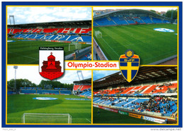 1) AK Olympia Stadion Postkarte Helsingborg Helsingborgs IF Schweden Sweden Sverige Svenska HIF Fotball Fotboll Stadium - Fussball