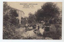 32 - SOLOMIAC - Machines Agricoles Delpont & Fils - Carte Peu Courante - - Autres Communes
