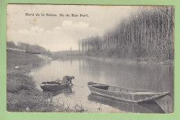 PONT DE L'ARCHE : Ile De Bon Port, Lavandière. Bord De Seine. 2  Scans. Edition ? - Pont-de-l'Arche