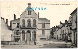 45 CHATILLON-sur-LOIRE - Hotel De Ville - Chatillon Sur Loire