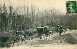 CHASSE A COURRE(VENERIE) BELLEME - Chasse