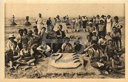 /! 6915 - CPA/CPSM - 59 -  Zuydcoote : Le Sanatorium : Travaux De Sable - Altri Comuni