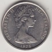 @Y@    Nieuw Zeeland  5 Cent 1975    (4419) - Nieuw-Zeeland