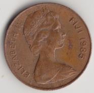 @Y@    Fiji   2 Cents  1985    (4421) - Fiji