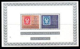 BF82 - NORVEGIA 1972 Unificato BF N. 2  *** .   MNH  . Macchiette Al Retro