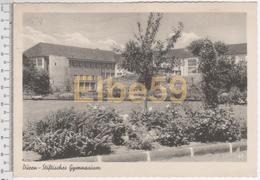 Düren (Nordrhein-Westfalen), AK, Stiftisches Gymnasium, Geschrieben - Dueren