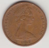 @Y@    Nieuw Zeeland  1 Cent 1967    (4425) - Nieuw-Zeeland