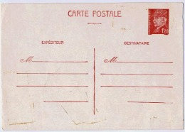 ENTIER PETAIN - Postal Stamped Stationery