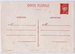ENTIER PETAIN - Enteros Postales