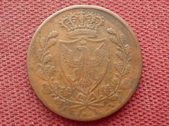 ITALIE Monnaie De 5 Centesimi 1826 Assez Rare - Temporary Coins