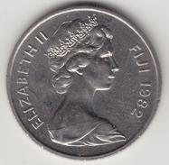 @Y@    Fiji  10 Cents   1982    (4427) - Fiji