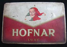 AC - HOFNAR LUXE 10 SIGAREN CIGAR TOBACCO EMPTY TIN BOX - Boites à Tabac Vides