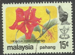 Pahang (Malaysia). 1979 Flowers. 15c Used SG 115 - Malaysia (1964-...)