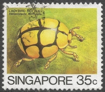 Singapore. 1985 Insects. 35c Used. SG 496 - Singapore (1959-...)