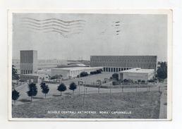 Roma - Capannelle - Scuole Centrali Antincendi - Viaggiata Nel 1952 - (FDC2999) - Enseignement, Ecoles Et Universités