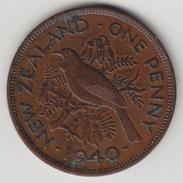 @Y@    Nieuw Zeeland  1 Penny  1940   (4439) - Nieuw-Zeeland