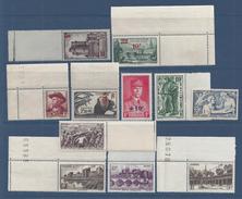 FR - 1941 - Lot - N° 491 - 492 - 494/501 - 504 - Tous Neufs XX - MNH - BDF - TB - - France