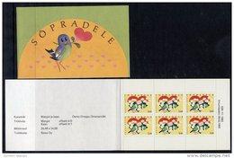 ESTONIA 1993 Greetings Stamp Booklet  MNH / **.  Michel 199 - Estonia