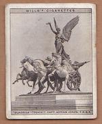 AC - QUADRIGA PEACE CAPTAIN ADRIAN JONES MODERN BRITISH SCULPTURE WILLS'S CIGARETTES - Documentos Antiguos