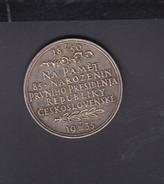 Czechoslovakia Medal Masaryk 1935 14.77 Gramms 32 Mm - Other