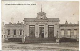 CPA - 37 - CHATEAU-RENAULT - L'Hotel De Ville - - Autres Communes