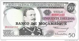 Mozambique - Pick 116 - 50 Escudos 1976 - Unc - Mozambico