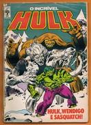 Hulk - Hulk,Wendigo E Sasquatch! N° 24 - Editora Abril - Libros, Revistas, Cómics