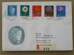 SUISSE / SCHWEIZ / SWITZERLAND // 1963, R-FDC PRO JUVENTUTE, Kpl. Satz Mit TABS, - Pro Juventute