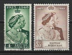 Brit. Honduras SG 164-65 VFU O - British Honduras (...-1970)