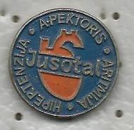 JUSOTAL APEKTORIS Medicine Drug Old Pin From Yugoslavia - Médical