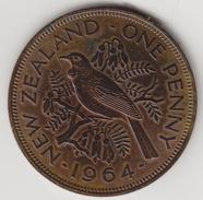 @Y@    Nieuw Zeeland  1Penny  1964    (4446) - Nieuw-Zeeland