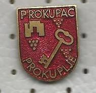 VIN WINE & BRENDY - PROKUPAC Prokuplje (Serbia) Vino Wijn Wein Grape Raisin, Plum Prune Schnapps - Beverages