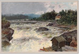 Morten Müller, Norvège - 1828 - 1911 - étui De 5 Gravures Sur Papier Cartonné : NORGE At Morten Müller , 36 X 28 Cm - Books, Magazines, Comics